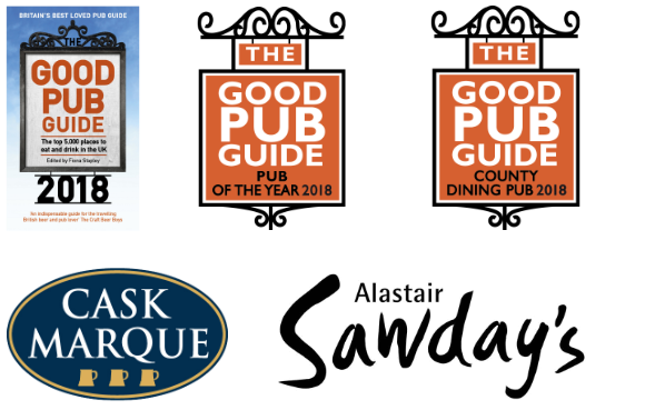 The King's Head Inn, Bledington - Good Pub Guide, Pub Of The Year 2018