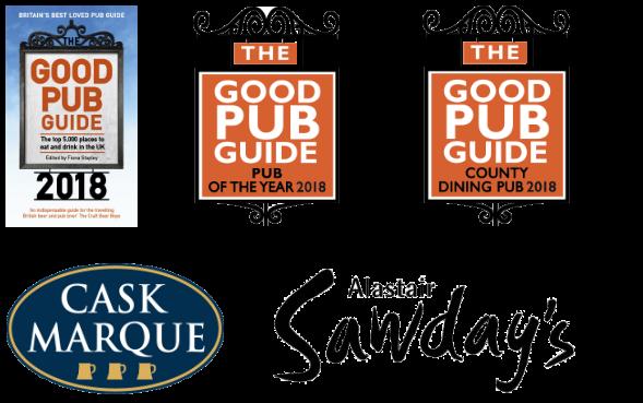 The King's Head Inn, Bledington - Good Pub Guide, Pub Of The Year 2018